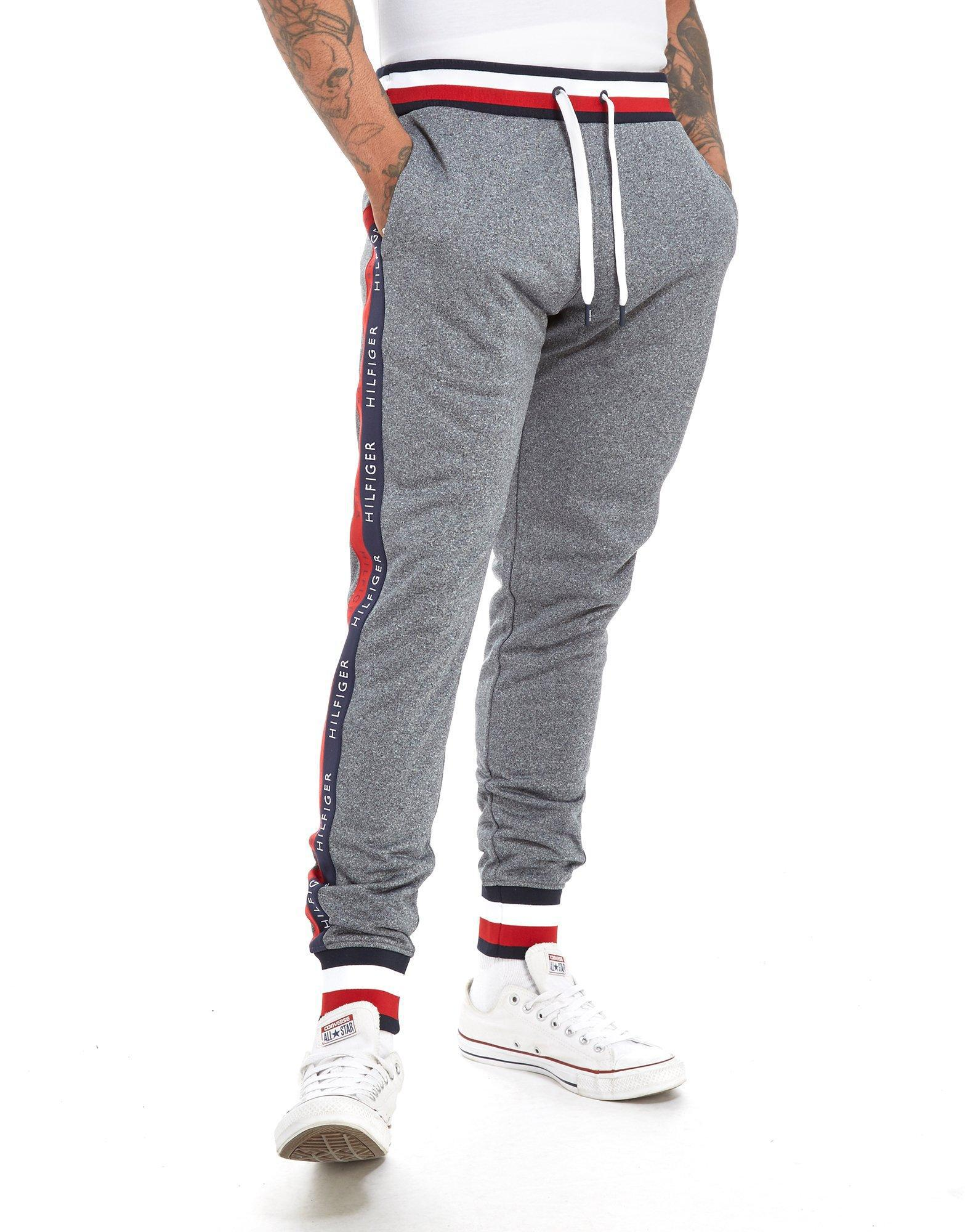 3d9260b46 Tommy Hilfiger Tech Terry Tape Pants in Gray for Men - Lyst
