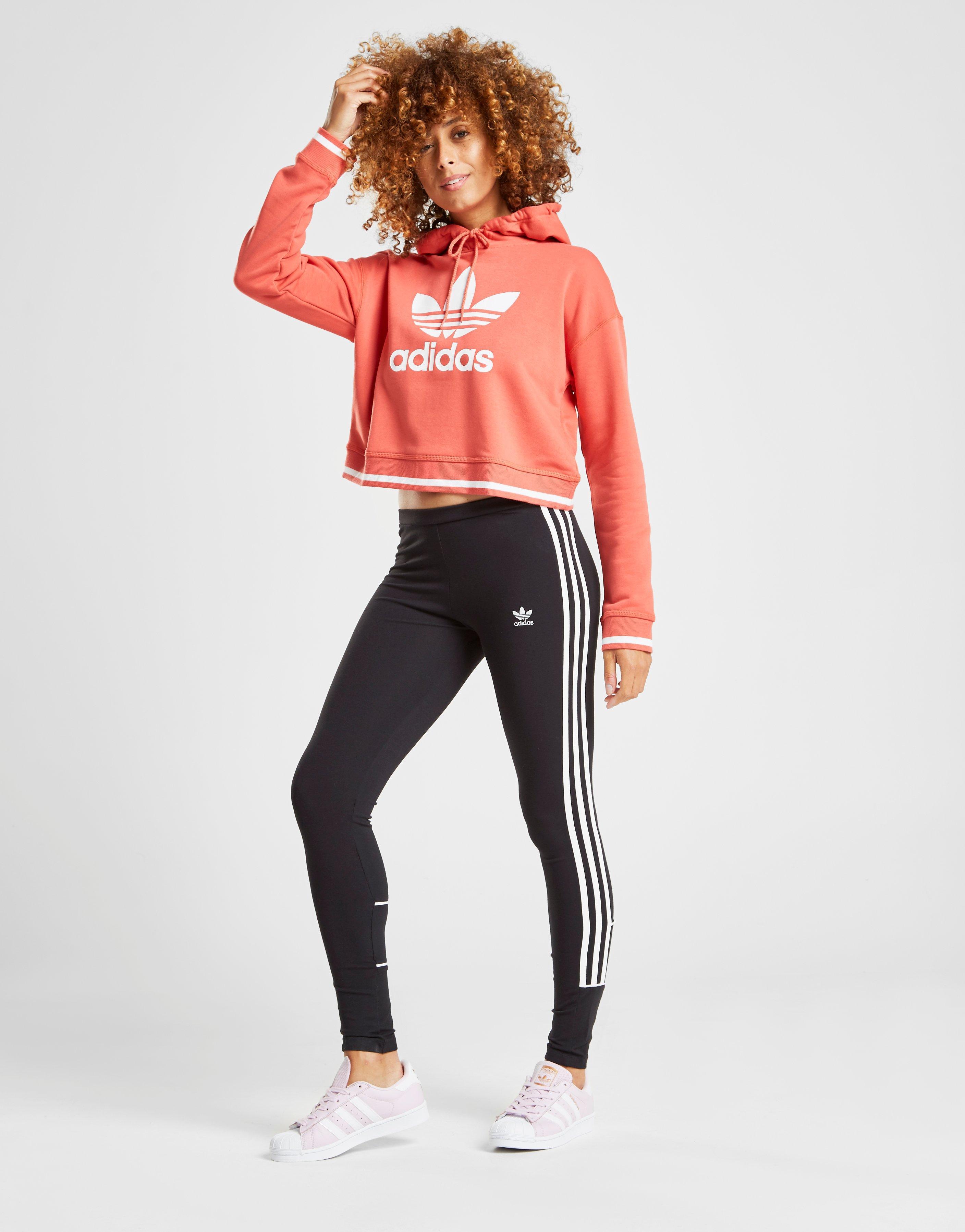 fb170c4ae adidas Originals 3-stripes Piping Leggings in Black - Lyst