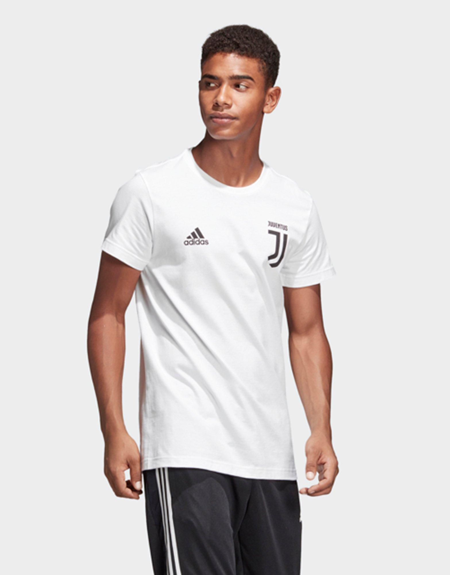 fe4900742ad Adidas Juventus Turin Graphic T-shirt in White for Men - Lyst