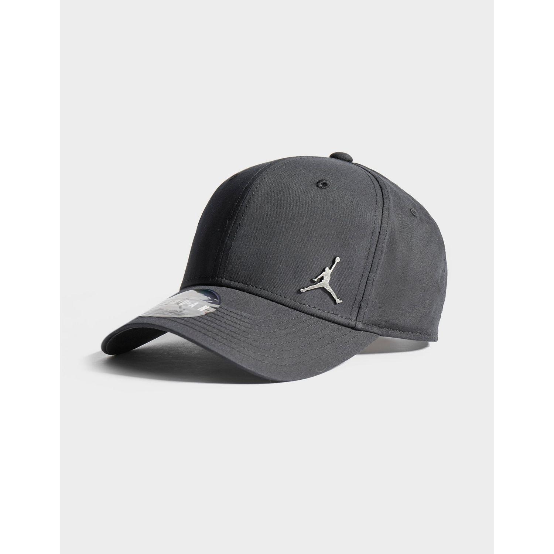 022d3143f6fb9 Nike - Black Metal Jumpman Cap for Men - Lyst. View fullscreen