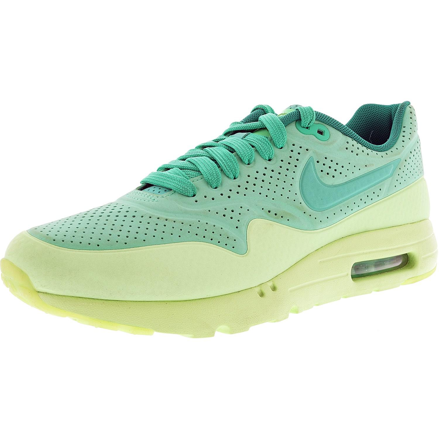 save off f875a 07411 ... cheapest lyst nike air max 1 ultra moire women round toe synthetic  green 18a1e 68f14