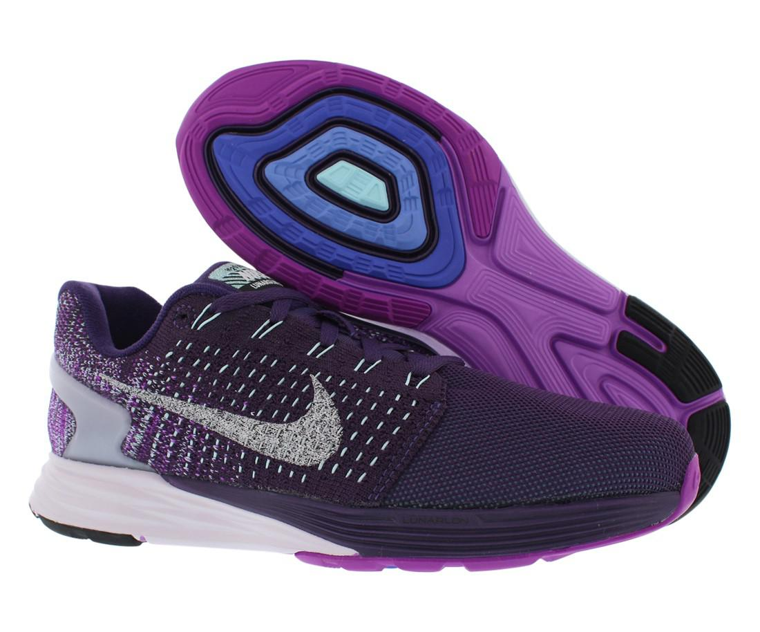 2cfdb69bbea2 Lyst - Nike Lunarglide 7 Flash Running Shoes Size 7.5 in Purple