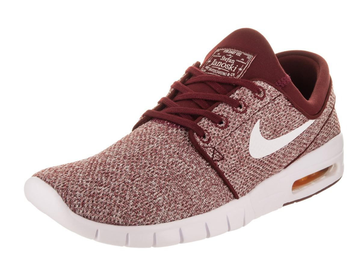 5c4cac0af ... where to buy lyst nike stefan janoski max skate shoe 8.5 us in red for  men
