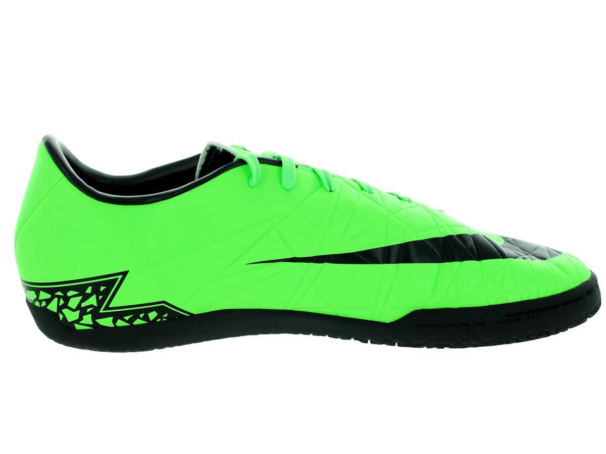 watch 54e2d 2617c Lyst - Nike Hypervenom Phelon Ii Ic Green Strike black black Indoor ...
