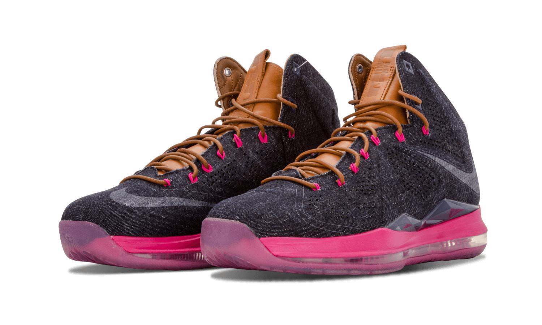 new styles 7e0c2 9d6e5 Lyst - Nike Mens Lebron X Ext Denim Qs