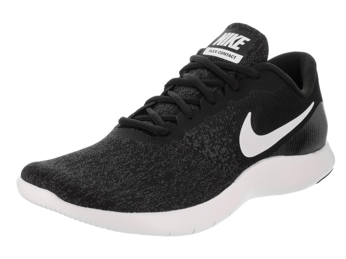 49faf6a87471 Lyst - Nike Flex Contact Black white anthracite Running Shoe 7.5 ...