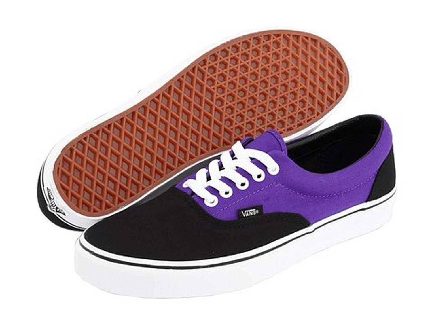 cd7d10ba299f Lyst - Vans Mens Era Royal Purple black Skateboarding Shoes in ...