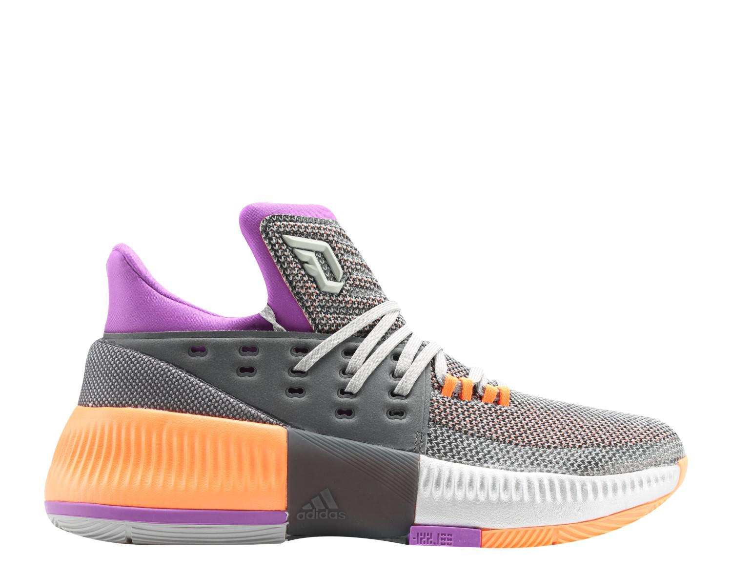 save off 4e639 adac9 ... discount code for lyst adidas d lillard 3 dame 3 asg grey purple orange  basketball 349be