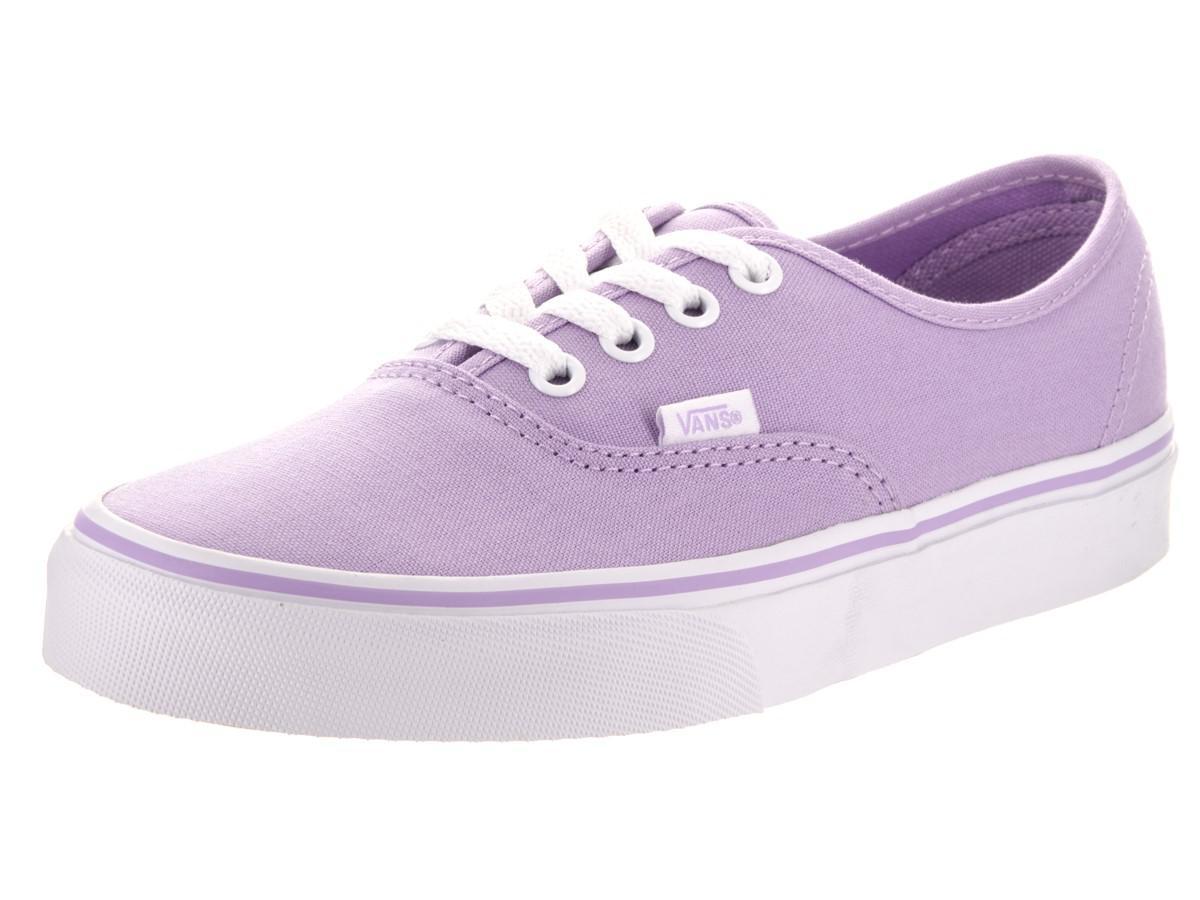 c57e773dd6e Lyst - Vans Unisex Authentic Lavender true White Skate Shoe 8 Men Us ...