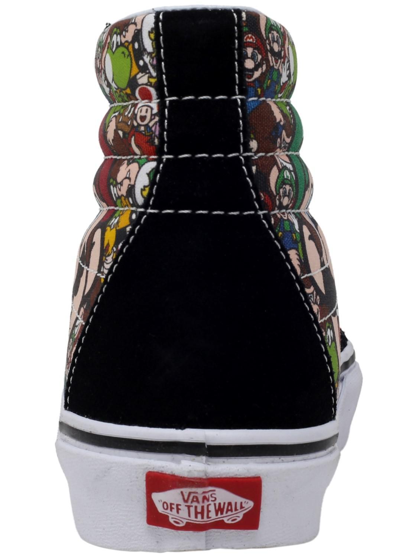 adeecebccc12ba Lyst - Vans Sk8-hi Reissue Nintendo Ankle-high Canvas Skateboarding ...