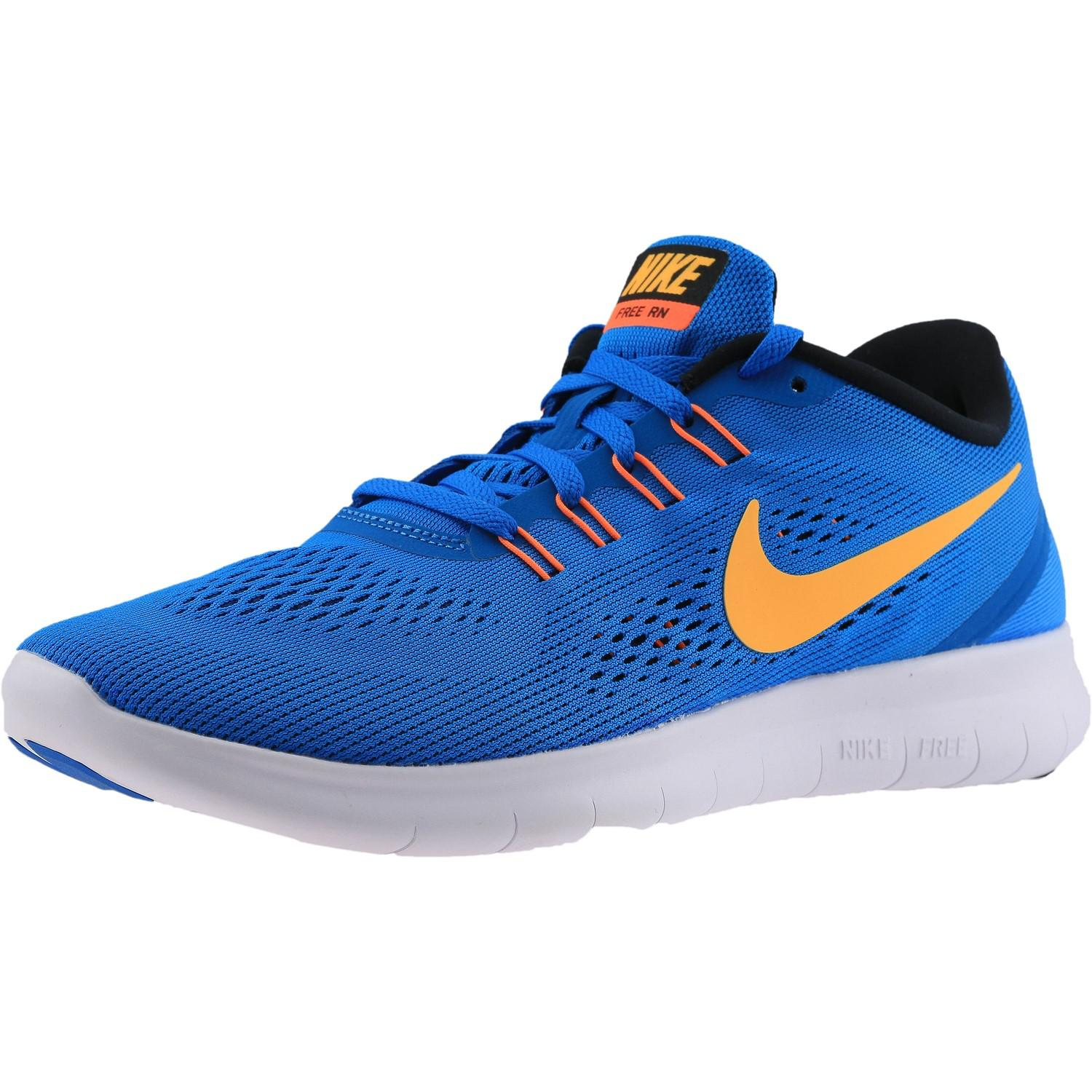 f88a291c433a ... new zealand lyst nike free rn ankle high running shoe 8.5m in blue for  men