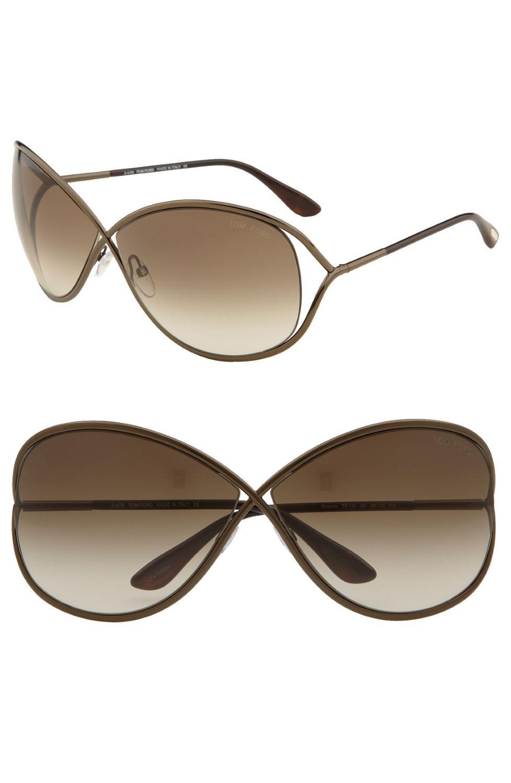 e03654c1888 Tom Ford - Brown Ft0130 Miranda Butterfly Sunglasses