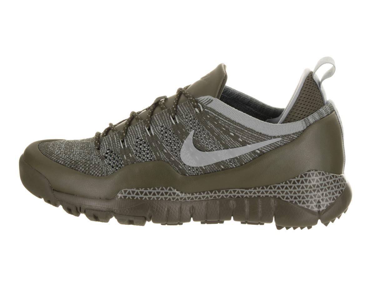84d1a7adabd4 Lyst - Nike Lupinek Flyknit Low Cargo Khaki mica Green Casual Shoe ...