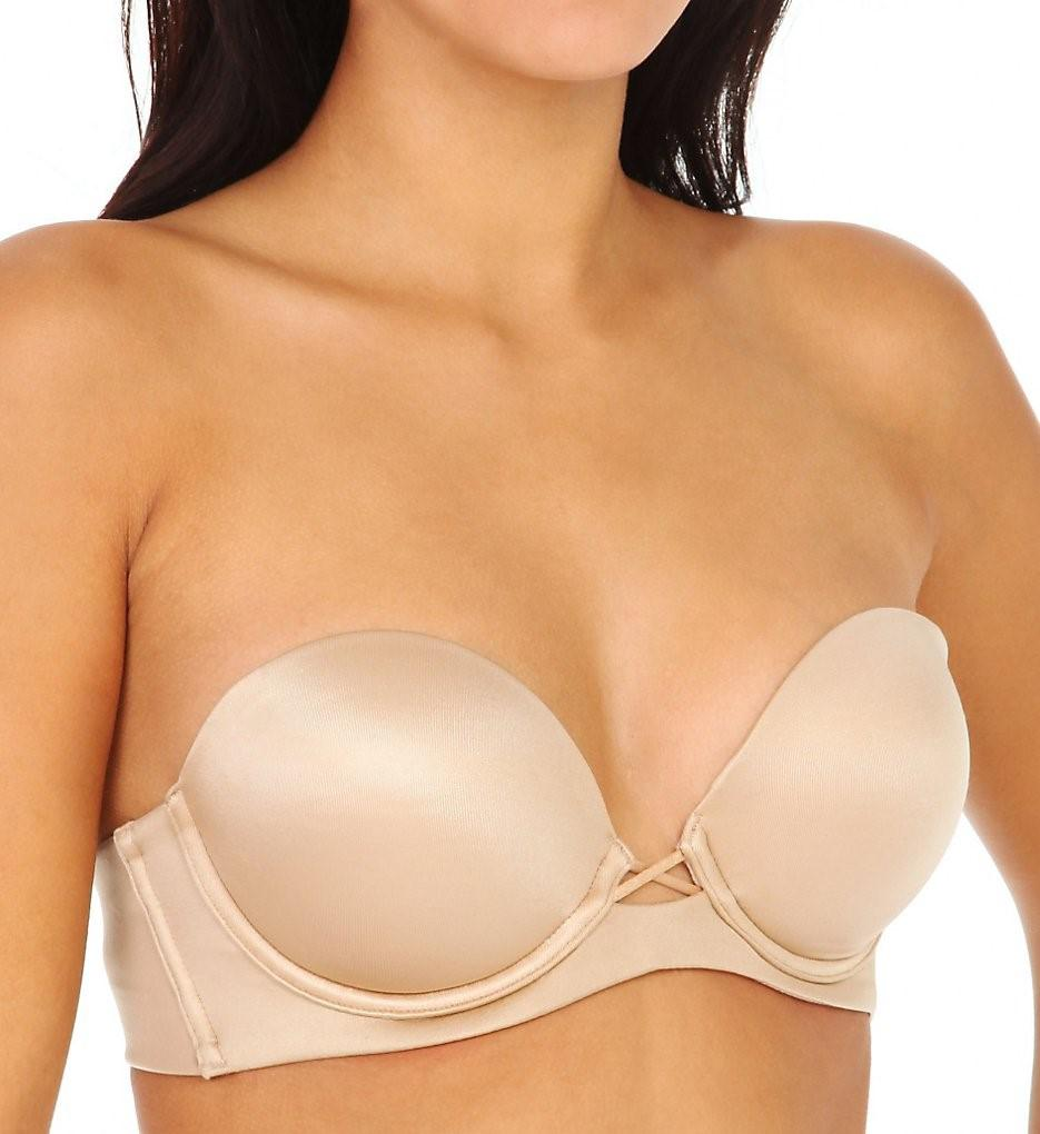 50d8138c852b9 Lyst - Maidenform 9458 Love The Lift Natural Boost Strapless ...