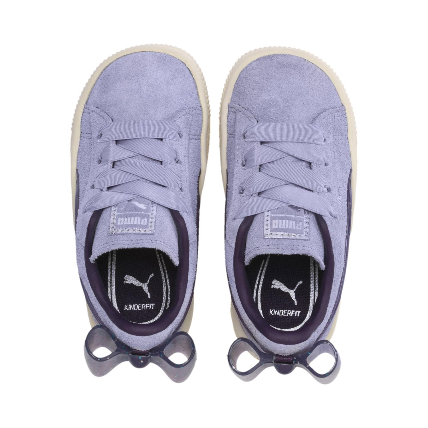 f1a52f57ad27 ... Suede Jelly Bow Ac Sneakers Ps Unisex Baby - Lyst. View fullscreen
