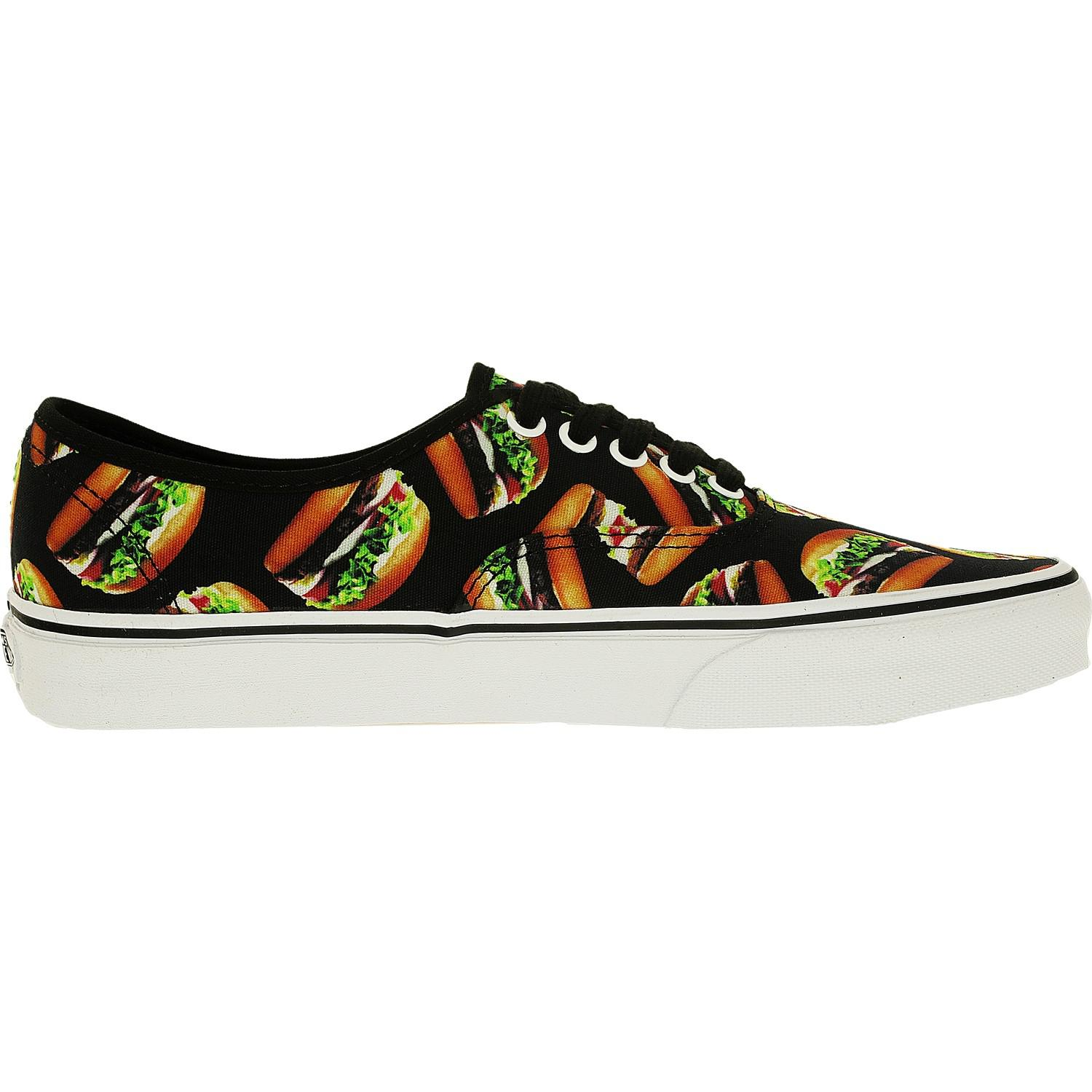 Lyst - Vans Authentic Late Night Black hamburgers Ankle-high Canvas ... b54cdd190