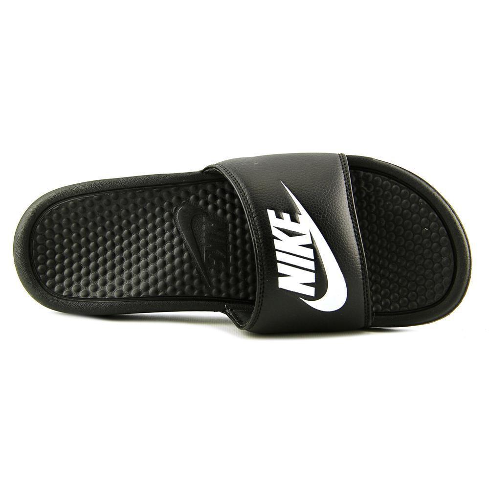 sports shoes aea60 d98c1 Lyst - Nike Benassi Solarsoft Slide 2 Men Us 9 Black Slides Sandal ...