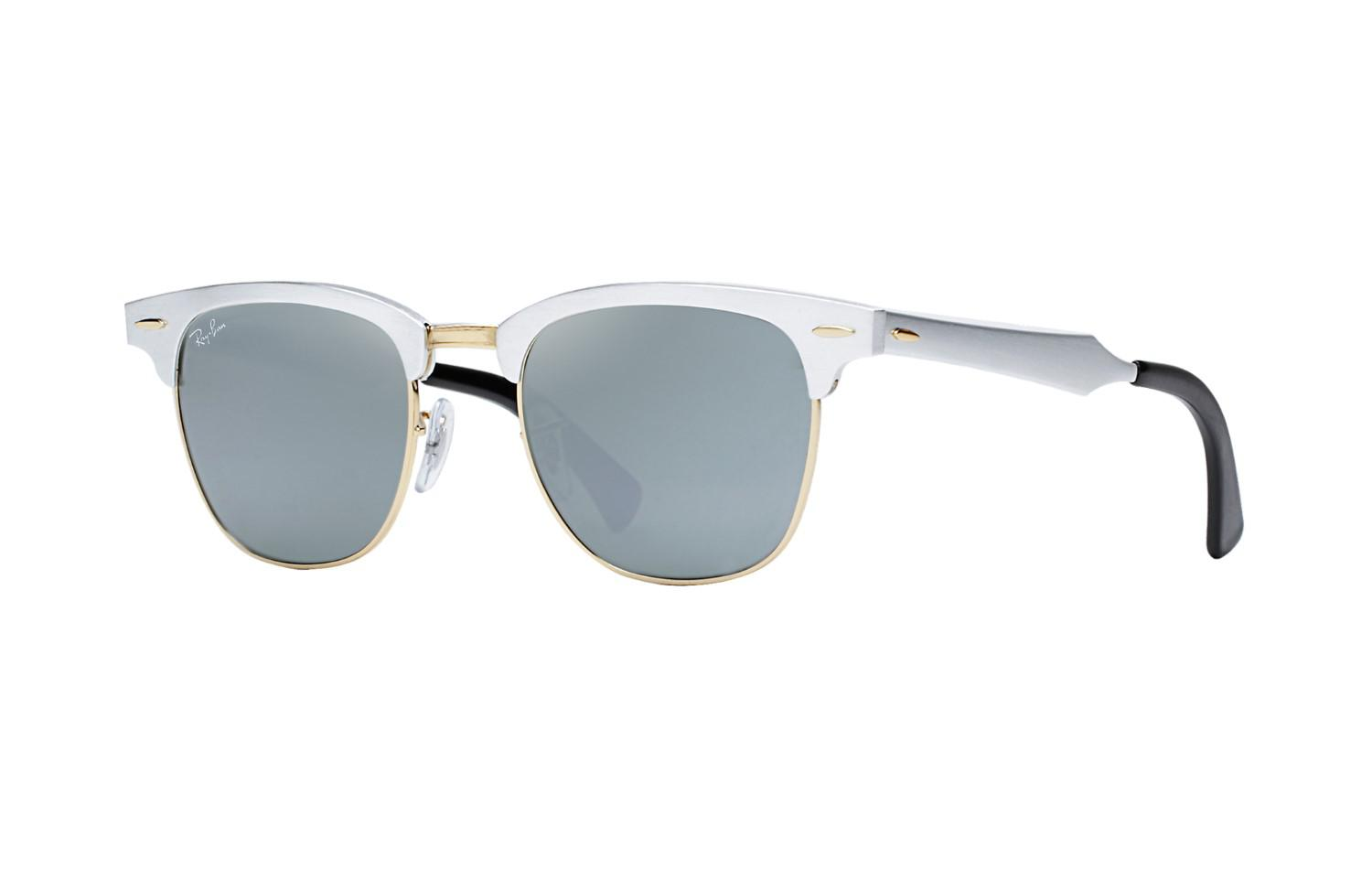 49ce268827 Ray-Ban 0rb3507 137 40 51 Brushed Silver arista grey Mirror ...