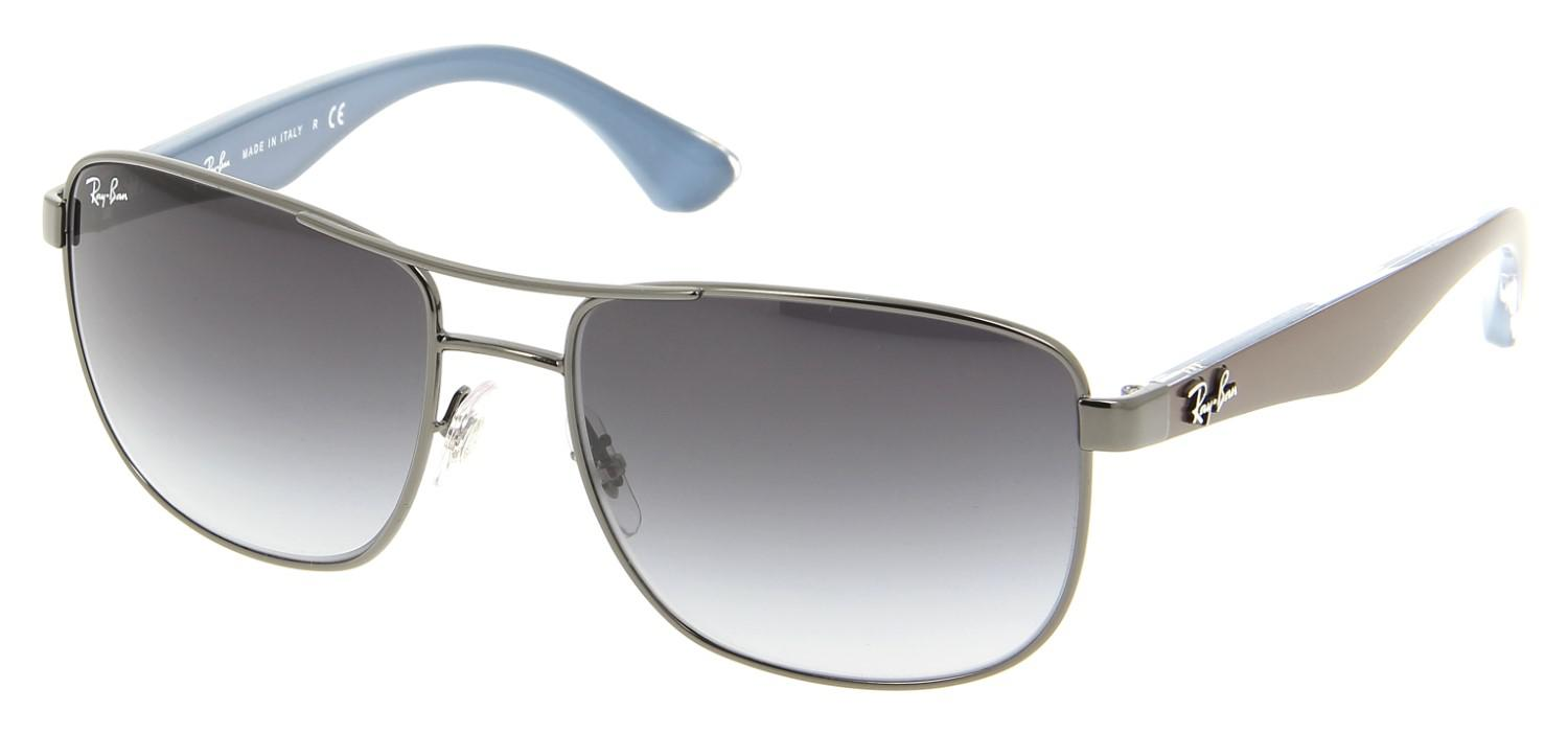 09e67adf67df2 Lyst - Ray-Ban 0rb3533 004 8g 57 Gunmetal gray Gradient Highstreet ...