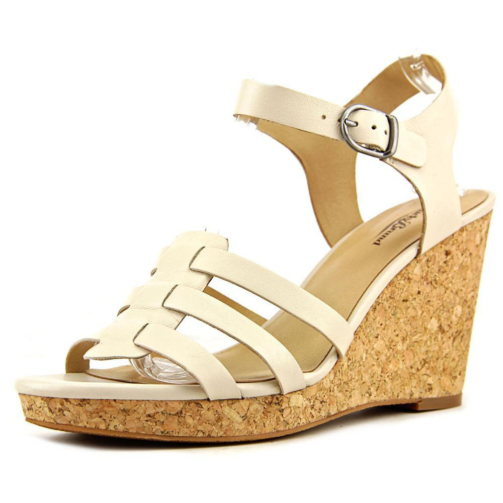 c272e8278e15 Lyst - Lucky Brand Willows Women Us 11 Nude Wedge Sandal