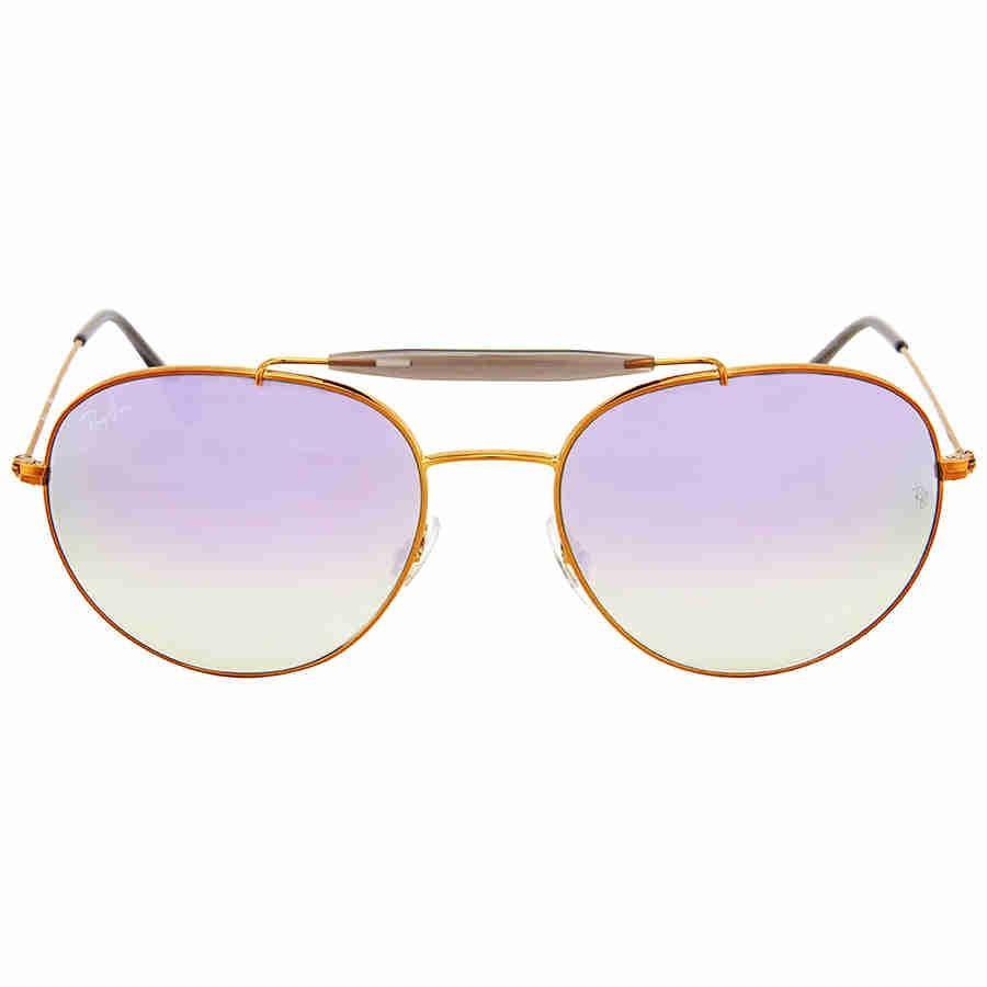 dfdb2de9990a8 Lyst - Ray-Ban Sunglasses Rb 3540 198 7x Shiny Bronze in Purple