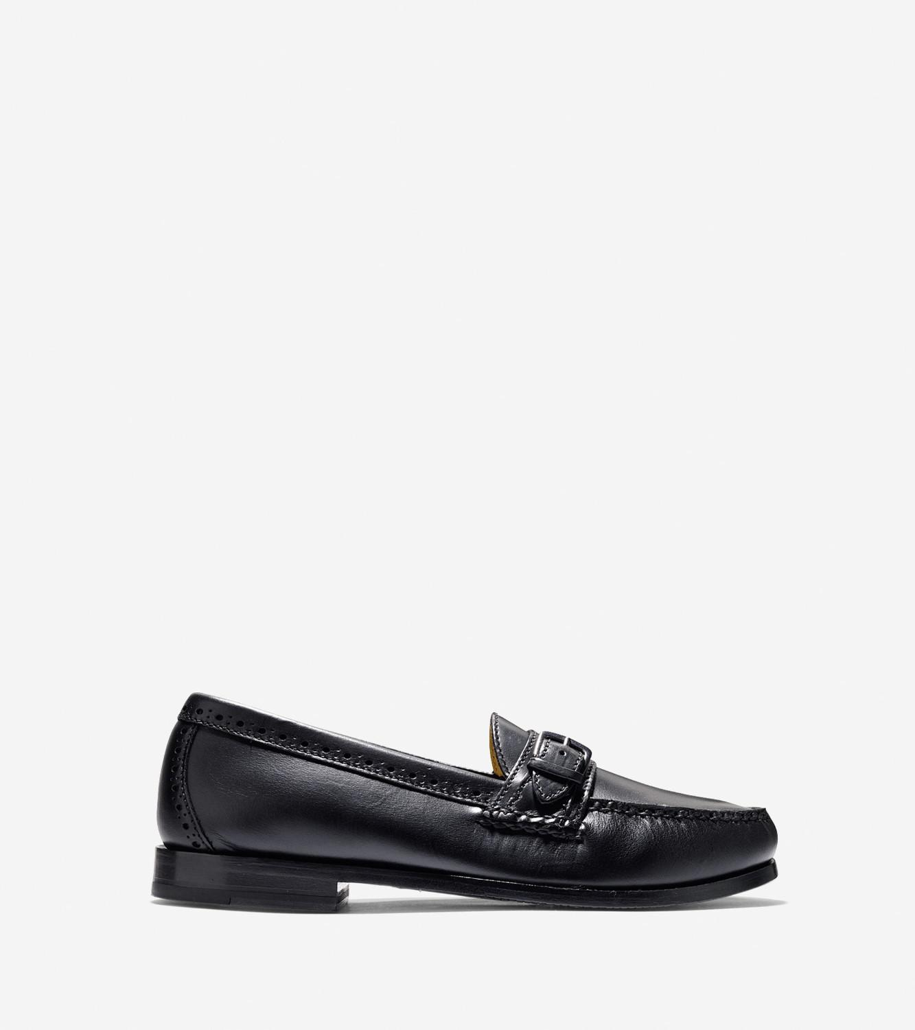 340d7e35c7d Cole Haan - Black Mens Grand Pinch Casual Buckle Loafer Shoe for Men - Lyst