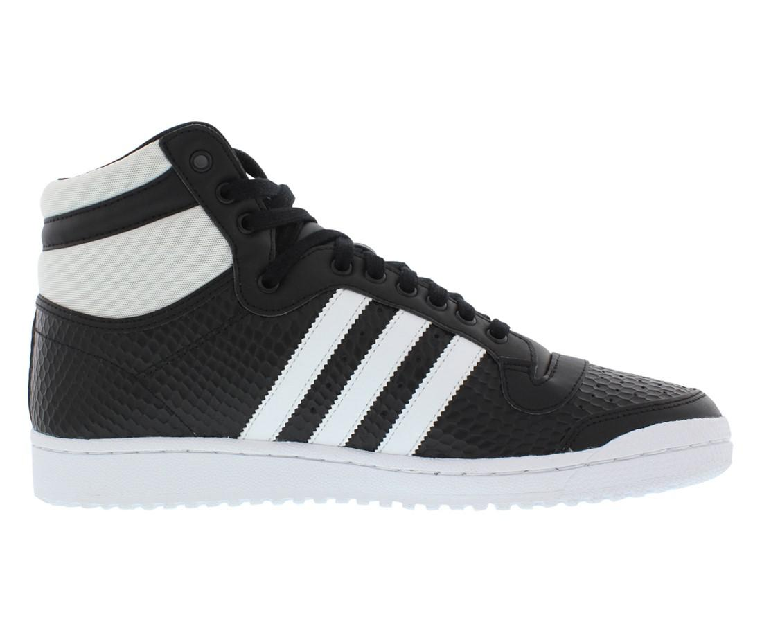 info for 37d5f a2238 Lyst - adidas Originals Top Ten Hi W Wide Shoes Size 9.5 in Black