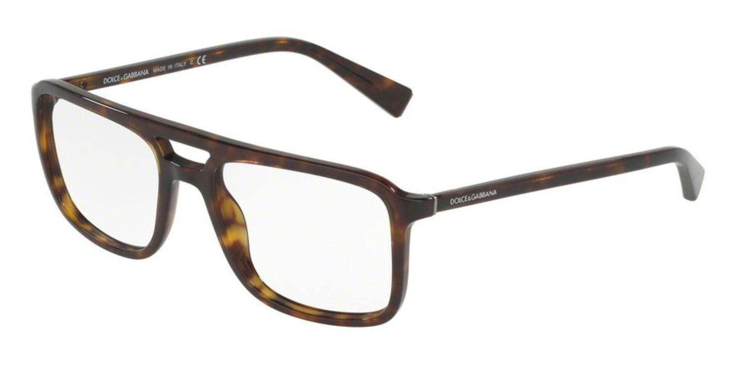 51c2731c Lyst - Dolce & Gabbana Eyeglasses Dg 3267 502 Havana in Brown for Men