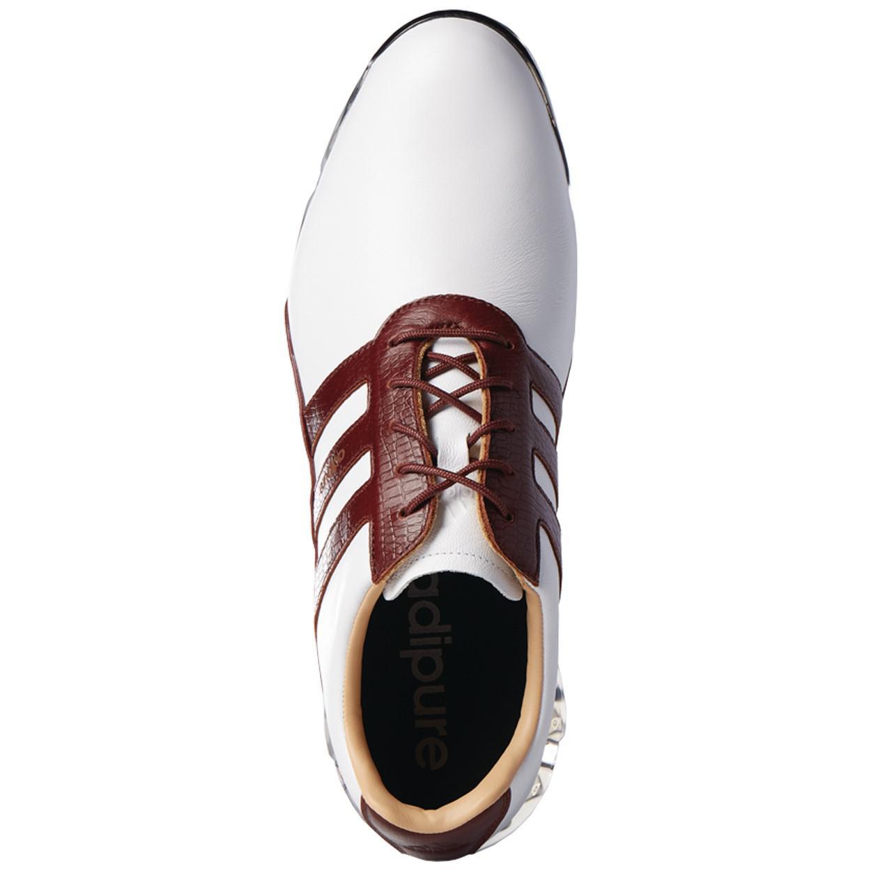 pretty nice bbde8 f4fcf Lyst - adidas Originals Adipure Classic Leather Waterproof G
