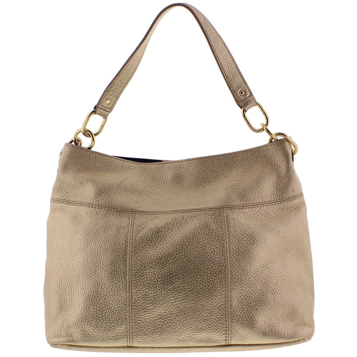 ceb9d2dc Lyst - Tommy Hilfiger Womens Leather Signature Hobo Handbag