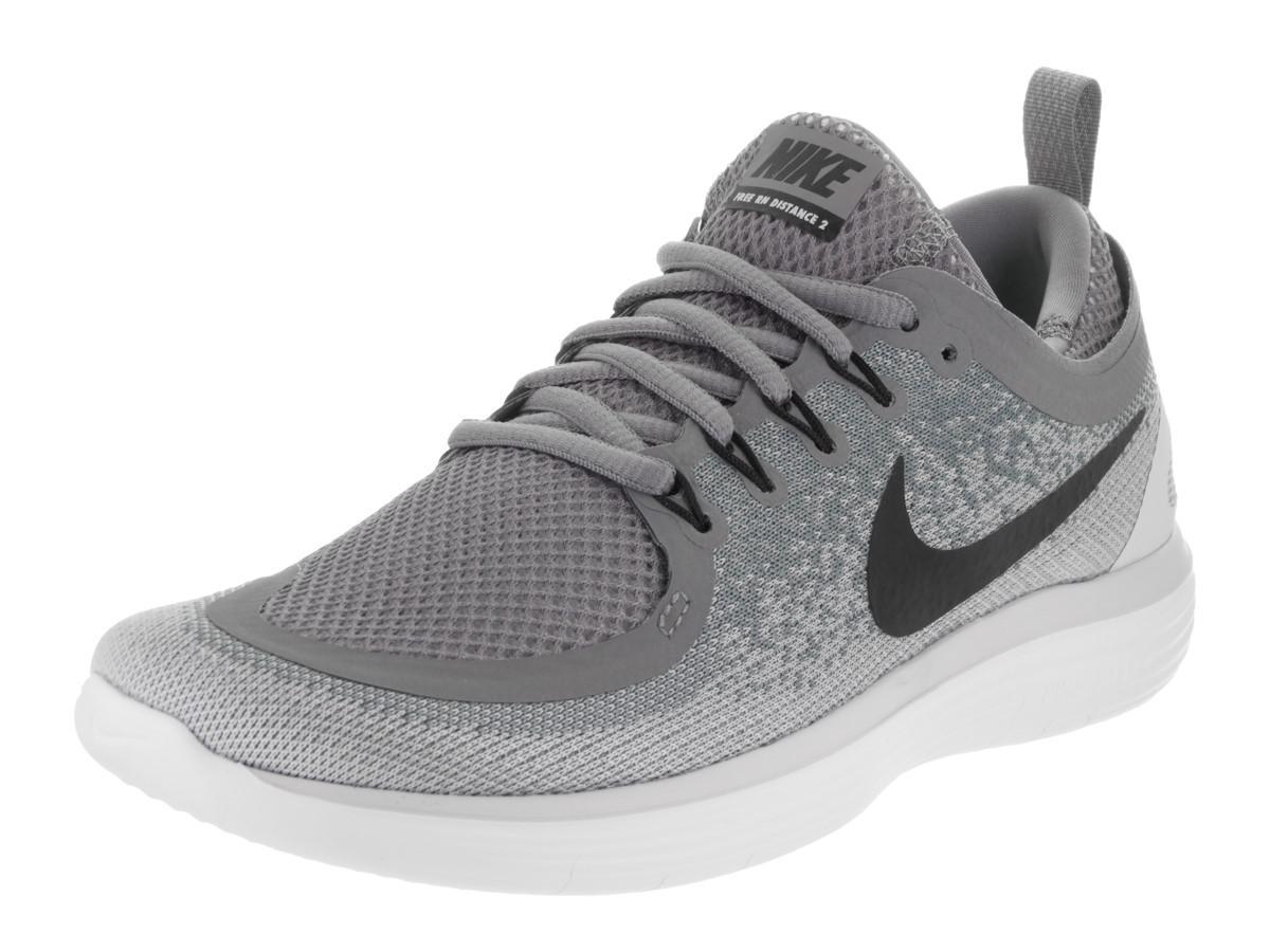 da5d6347b906c Lyst - Nike Free Rn Distance 2 Cool Grey black Wolf Grey Running ...