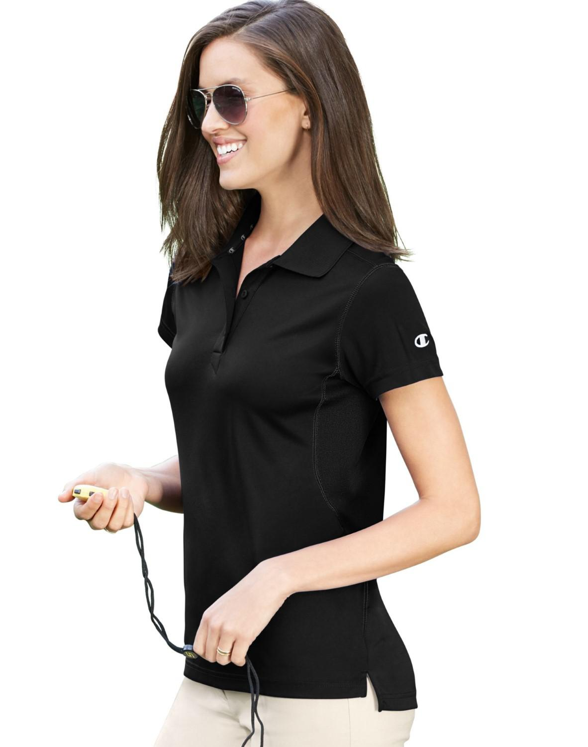 e05e3a76df37 Lyst - Champion H132 Ultimate Double Dry® Performance Sport Shirt in ...