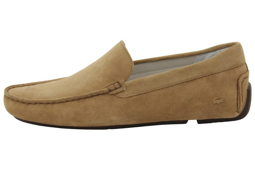5b80d7347 Lacoste - Brown Piloter 316 2 Fashion Light Tan Suede Loafers Shoes for Men  - Lyst. View fullscreen