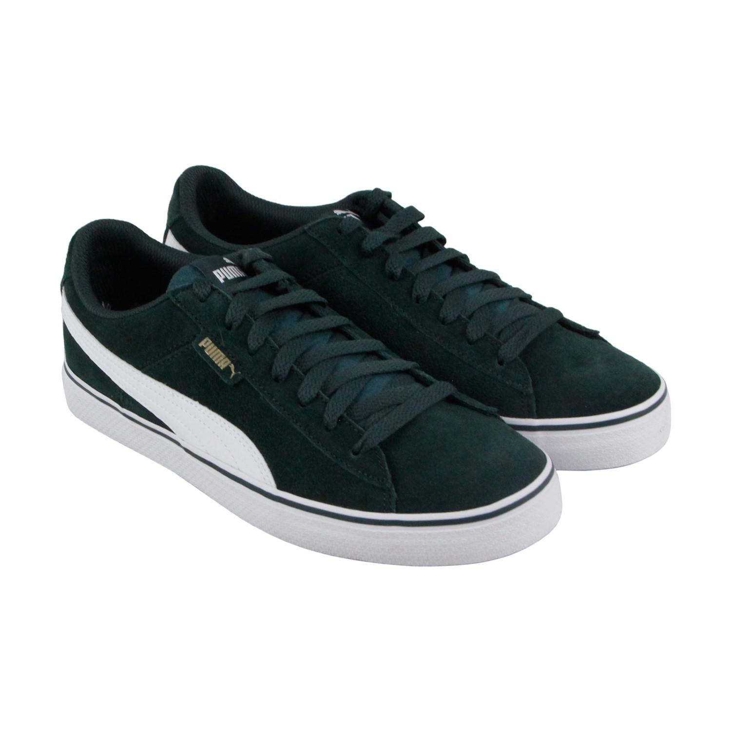 f6bada8c74ffe2 Lyst - PUMA 1948 Vulc Gables White Lace Up Sneakers in Green for Men
