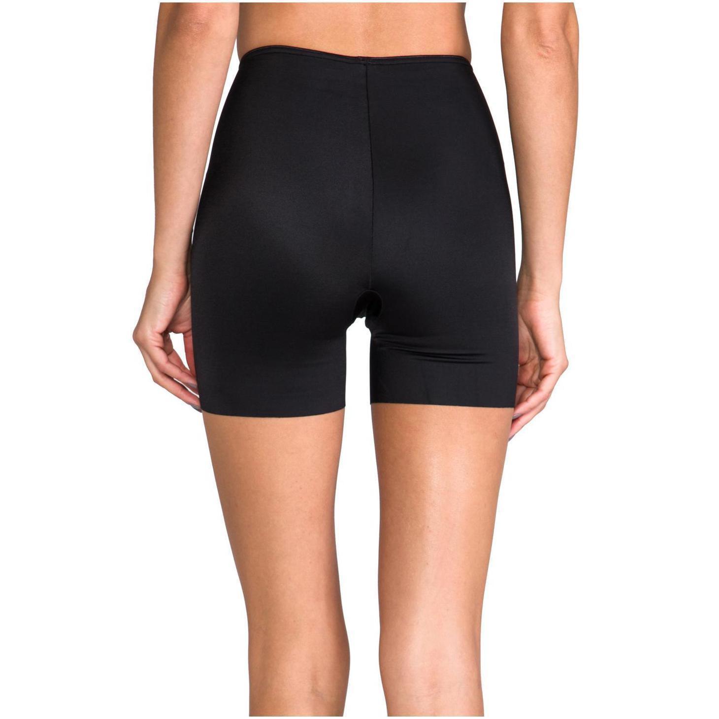 2c94fb17a95b7 Spanx. Women s Black Slimplicity Girl Short Compression Control Shapewear  Boyshorts 393 393p