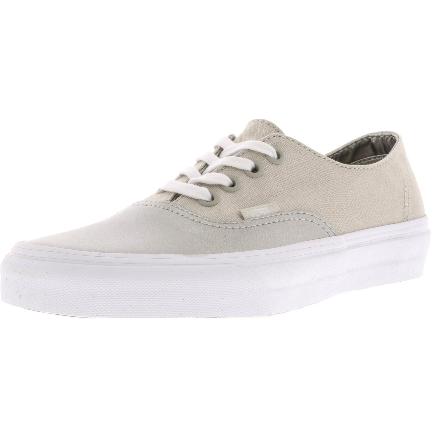 45000b2ecbb26c Lyst - Vans Authentic Decon Metallic Canvas Skateboarding Shoe - 7m ...