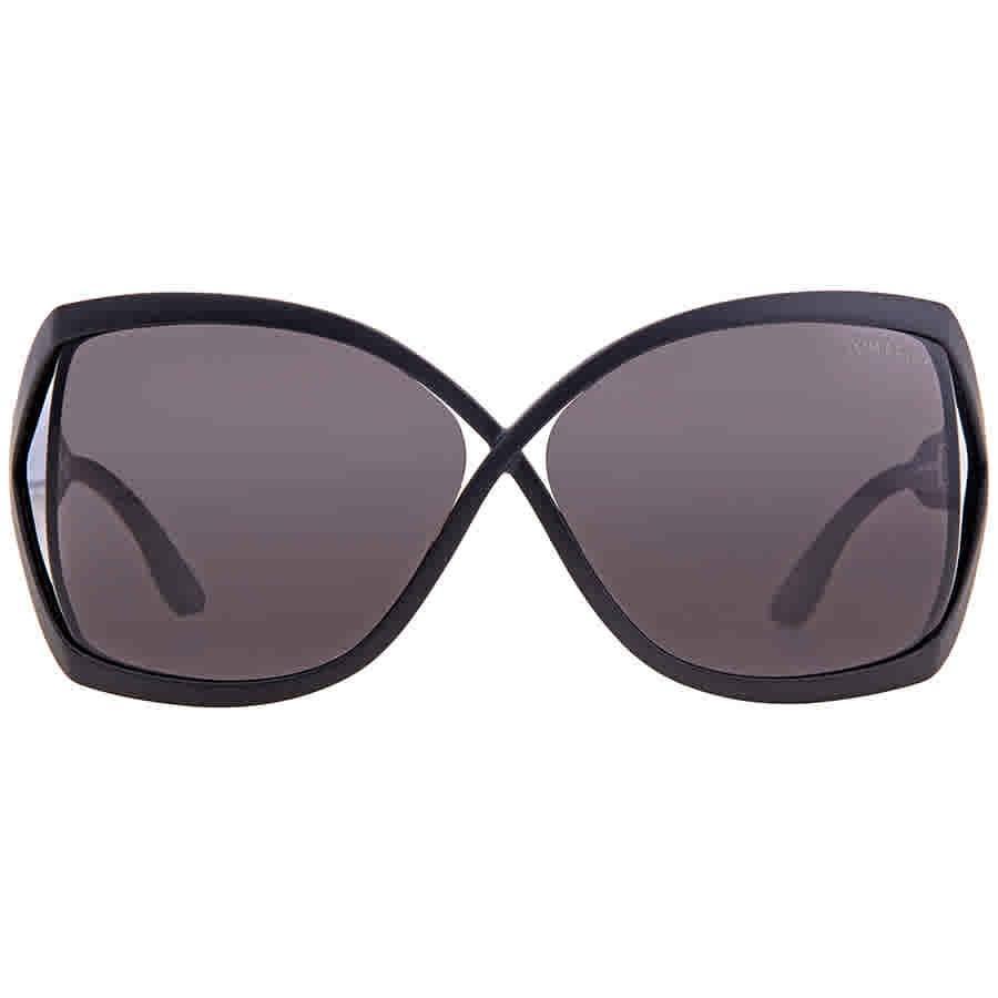 d4e307ccc999 Lyst - Tom Ford Julianne Butterfly Sunglasses in Gray