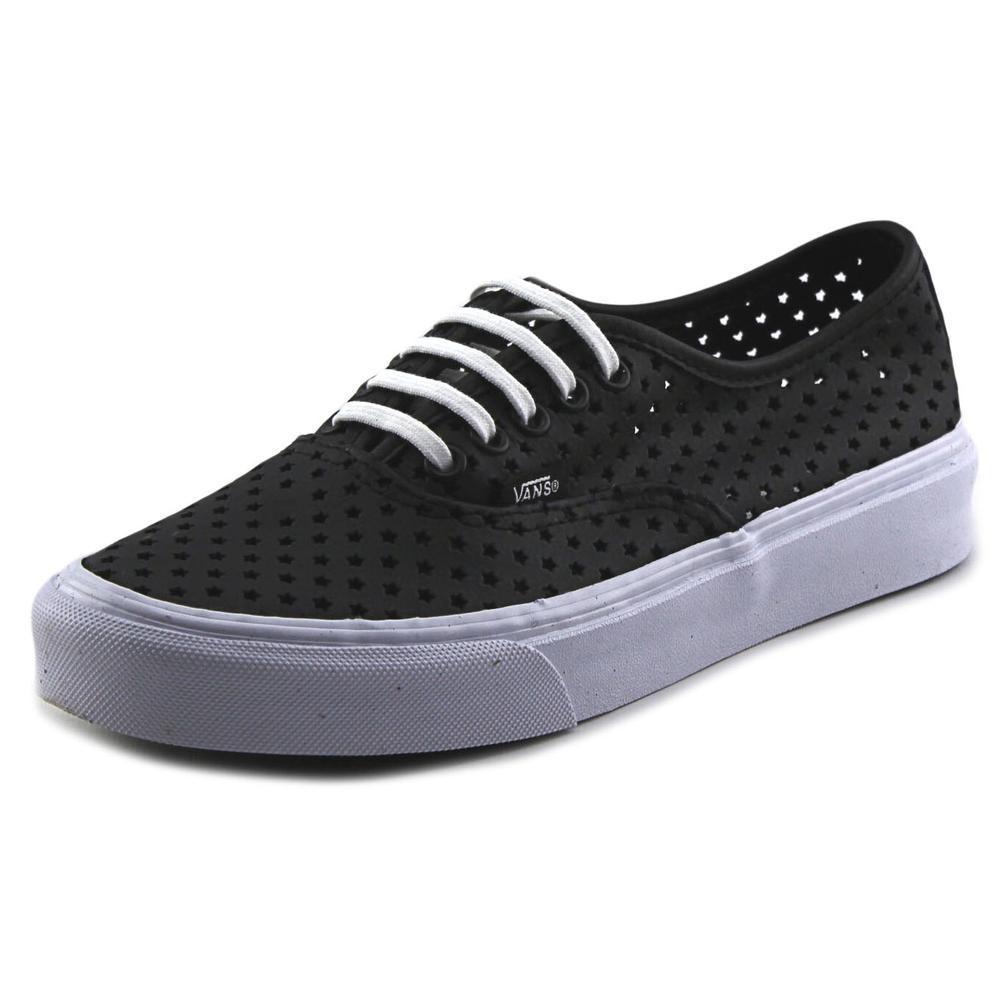 6eac13ead7 Lyst - Vans Authentic Slim Black Sneakers in Black for Men