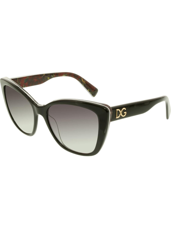 f5bf9276ef83 Dolce   Gabbana. Women s Black Gradient Dg4216-29408g-55 Square Sunglasses