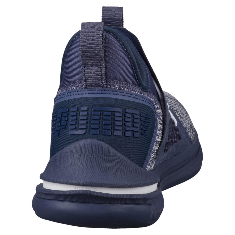 f6008952d81 PUMA - Blue Ignite Limitless Netfit Street Running Shoes - Lyst. View  fullscreen