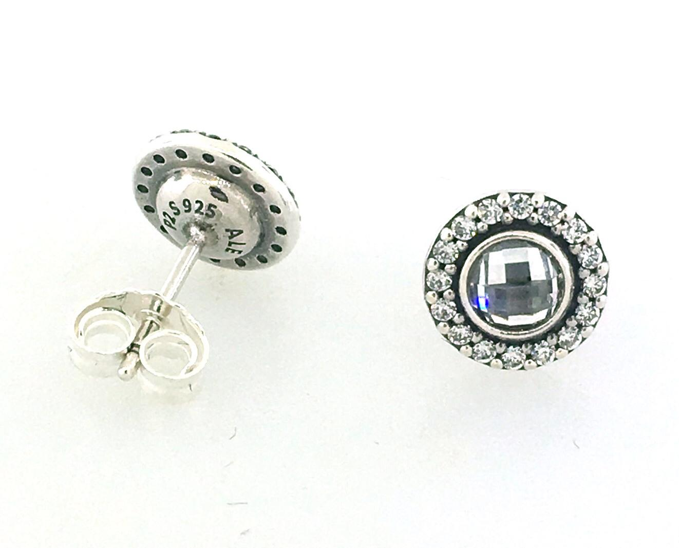 8bfd5099c ... spain lyst pandora sterling silver sparkle and shine earring gift set  c037b cec74
