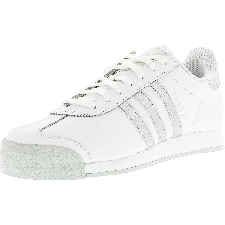 sale retailer 88b84 095b1 Lyst - adidas Samoa Ftw White   Silver Metallic Cool Grey Ankle-high ...