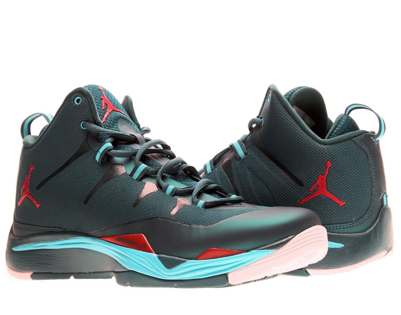 e630972a813d Lyst - Nike Jordan Super.fly 2 Sneakers 599945 Szdark Sea in Green ...