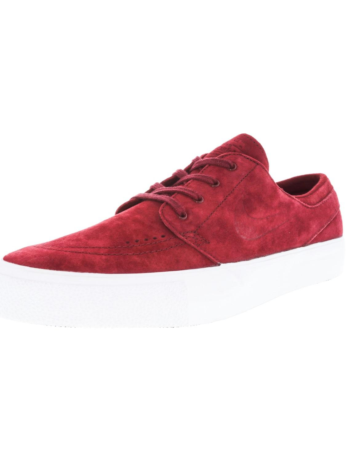 sports shoes 01023 8353b Lyst - Nike Zoom Stefan Janoski Prem Ht Team Red team Red White ...