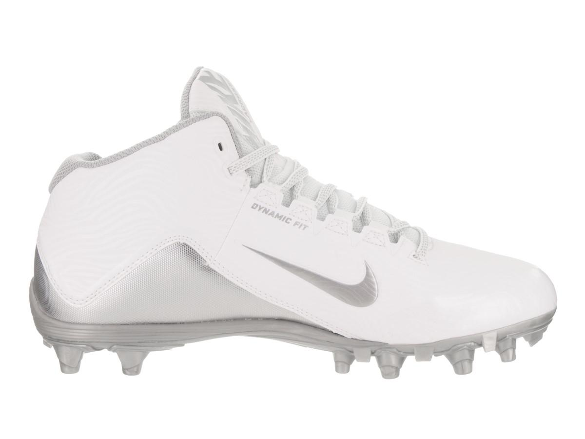 dc1f858ed1348 Lyst - Nike Speedlax 5 White/mtllc Silver Mtllc Silver Training Shoe ...