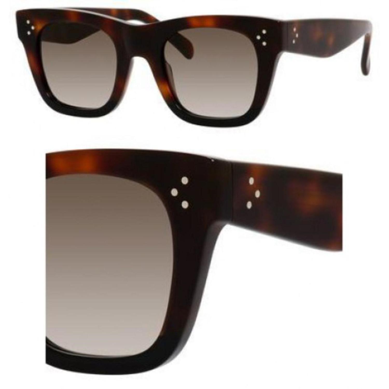 9d21712caa5 Lyst - Céline Sunglasses 41089  s 0aea Havana   Z3 Brown Degrade ...