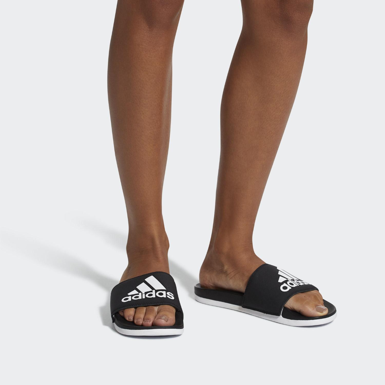 e8b6202fcd90 Lyst - adidas Adilette Cf+ Logo (ice Mint silver Metallic grey Three ...