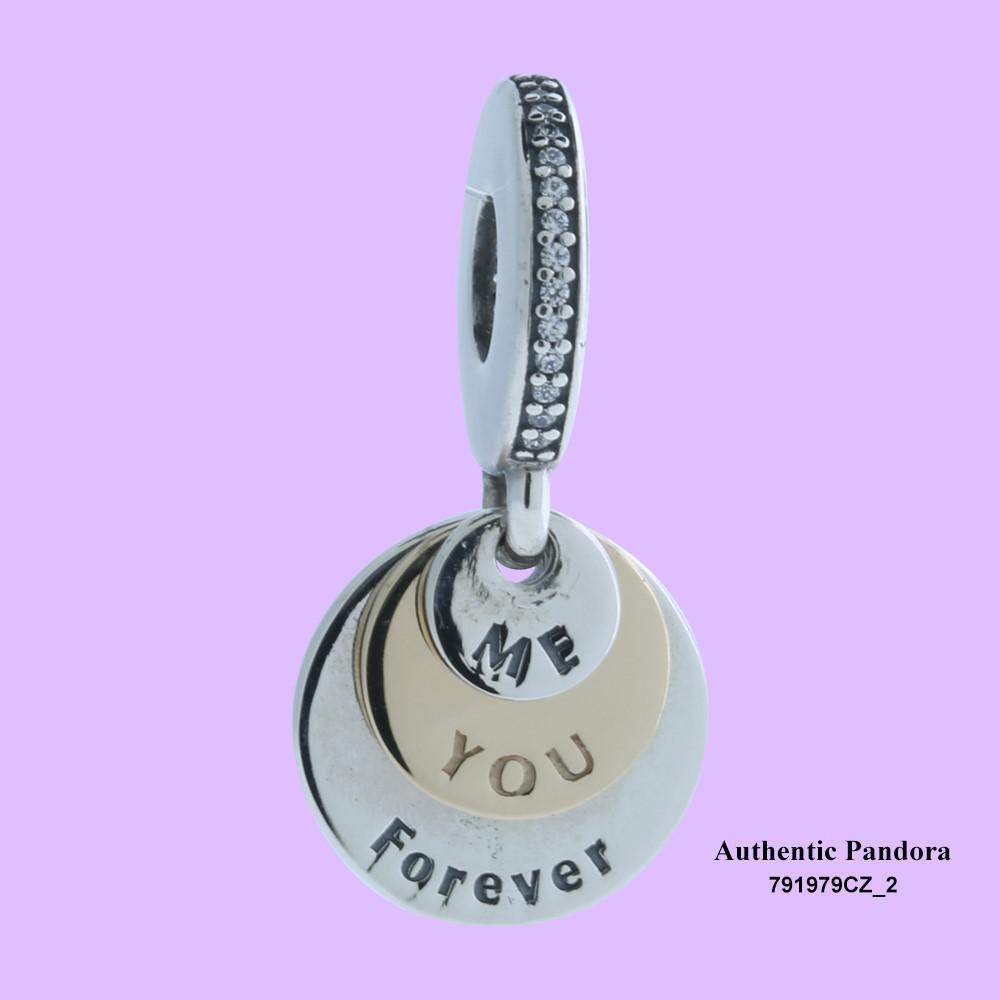 Pandora Women Silver Bead Charm - 791979CZ 29oWVsljz