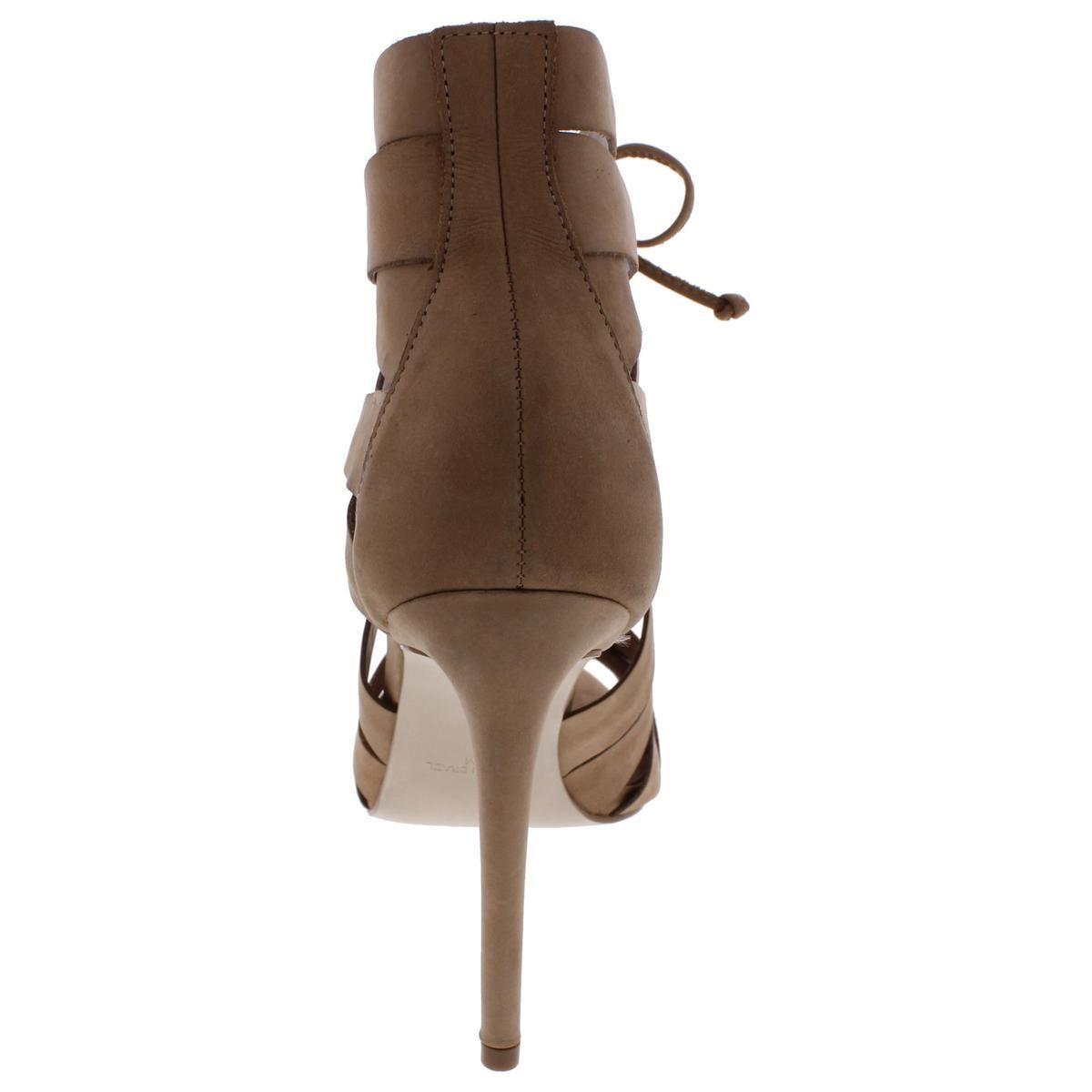 1b9af0f662a Lyst - Steve Madden Bae High Heel Dress Sandal in Brown - Save 43%