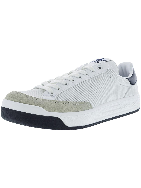 ae54ca7fc5e98 Lyst - adidas Rod Laver Super Footwear White   Collegiate Navy Ankle ...